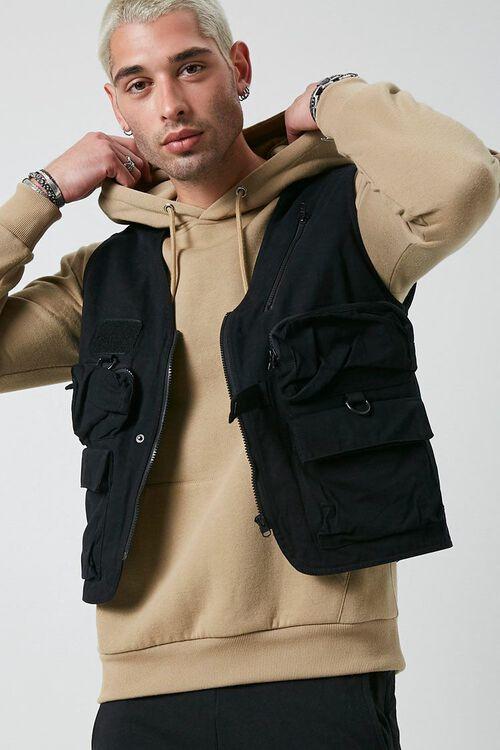 Zip-Up Utility Vest, image 1