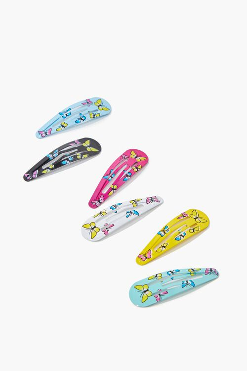 Butterfly Snap Clip Set, image 1