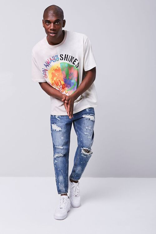Paint Splatter Distressed Ankle Jeans, image 4