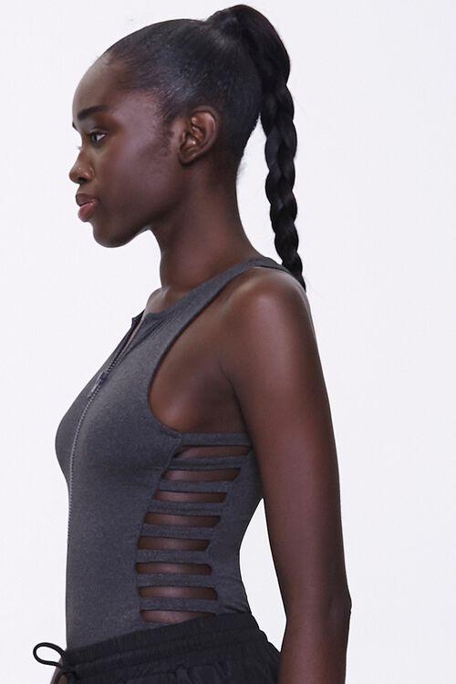 Active Caged Sleeveless Bodysuit, image 2
