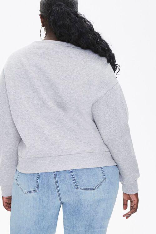 Plus Size Fleece Drop-Sleeve Pullover, image 3