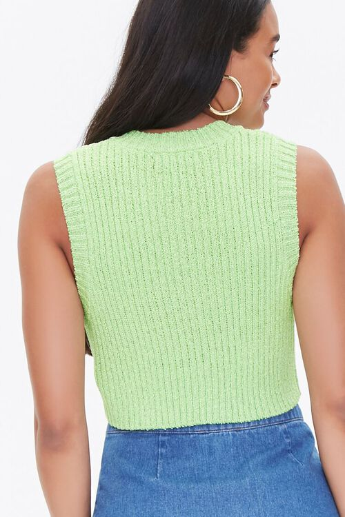 Cropped Sweater-Knit Vest, image 3