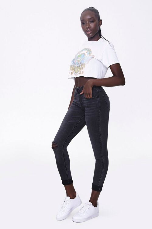Recycled Skinny Ankle Jeans, image 1
