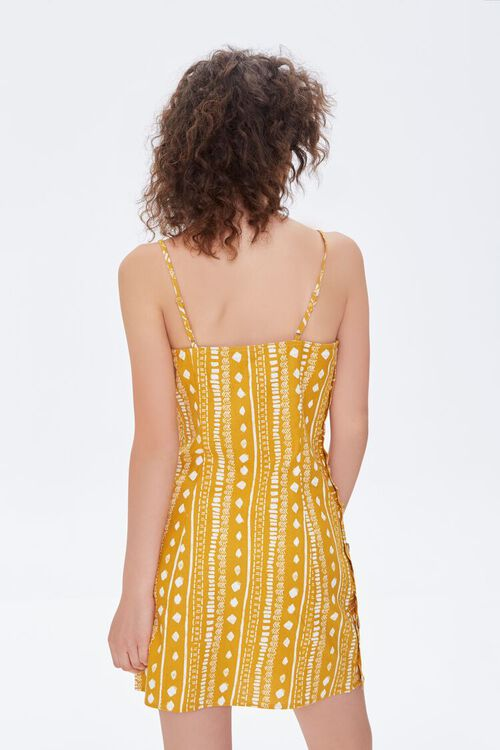 Geo Print Mini Cami Dress, image 3