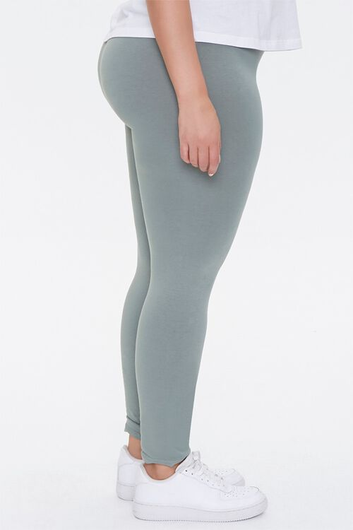 Plus Size High-Rise Leggings, image 3