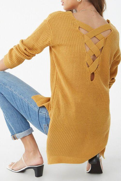 Chunky Crisscross Sweater, image 1