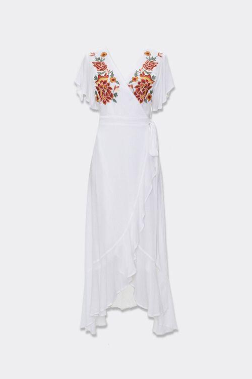Floral Wrap Maxi Dress, image 1