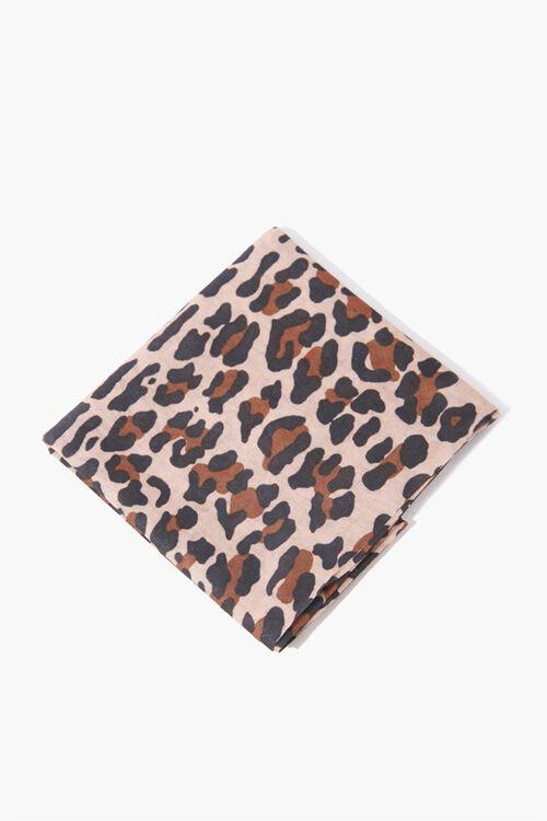 Leopard Print Scarf, image 1