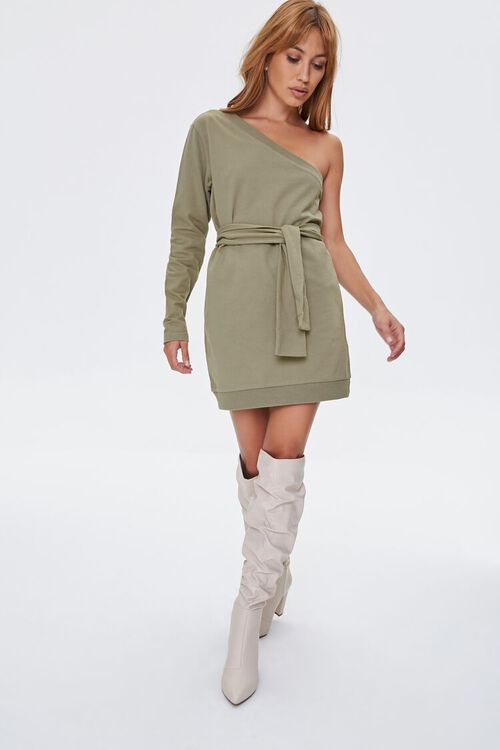 One-Shoulder Mini Dress, image 4