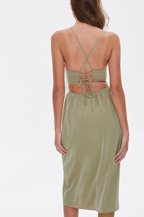 Crisscross Midi Dress, image 3