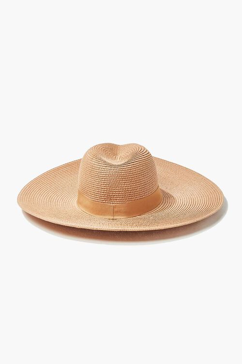 Faux Straw Panama Hat, image 3