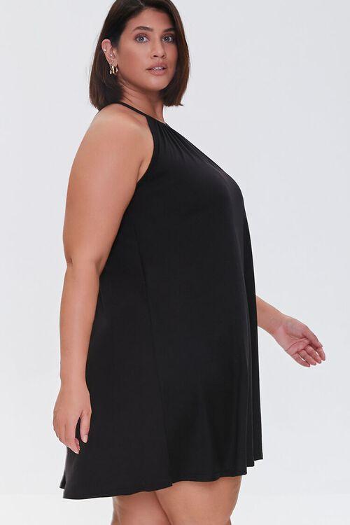 Plus Size Trapeze Mini Dress, image 2