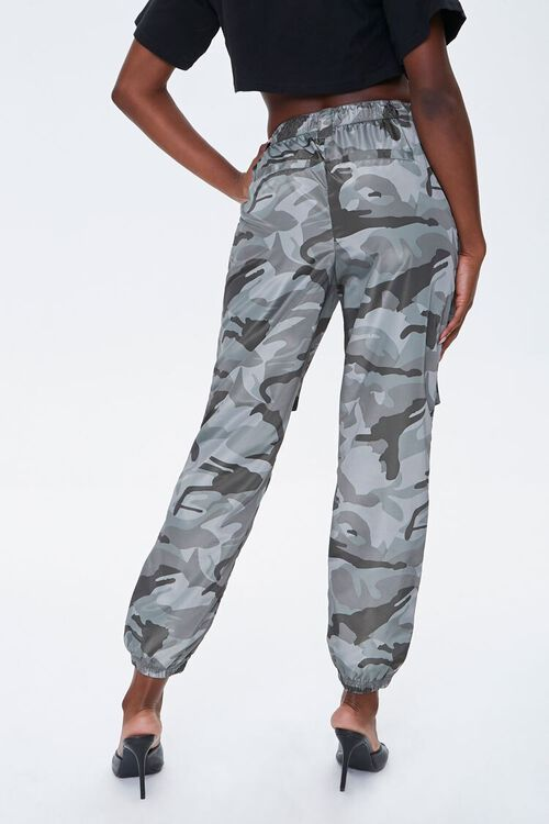 Camo Cargo Ankle Joggers, image 3