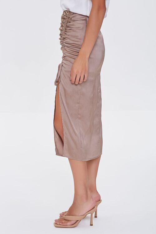 Ruched Drawstring Skirt, image 3