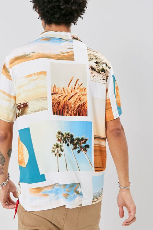 Classic Fit Beach Graphic Shirt, image 3