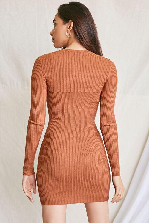 COFFEE Super Cropped Top & Mini Dress Set, image 3
