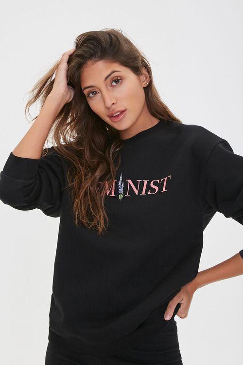 Feminist Graphic Pullover, image 1
