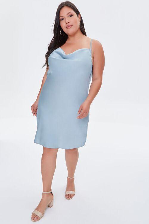 Plus Size Cami Slip Dress, image 4