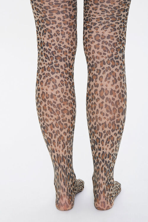 Leopard Print Tights, image 3