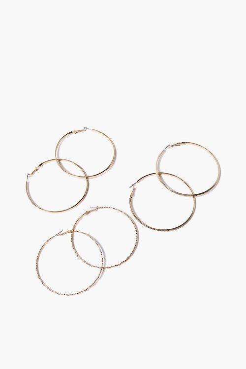 Hoop Earrings Set, image 1