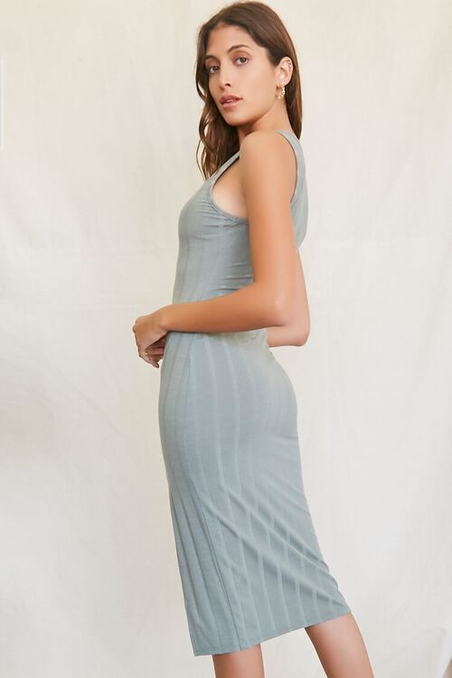 Ribbed Knit Tank Dress, image 2