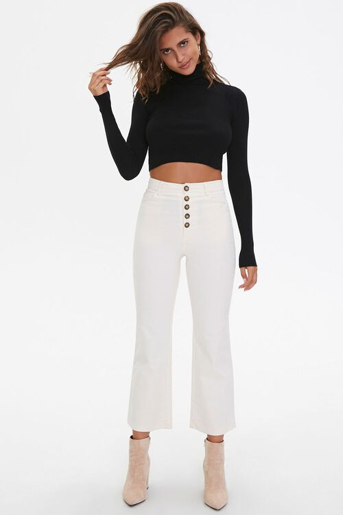 Cropped Turtleneck Sweater, image 4