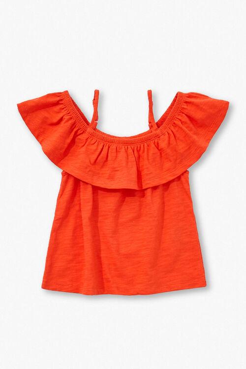 Girls Open-Shoulder Top (Kids), image 1