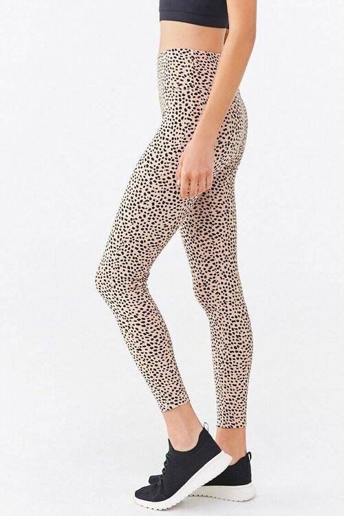 Active Cheetah Print Leggings, image 3