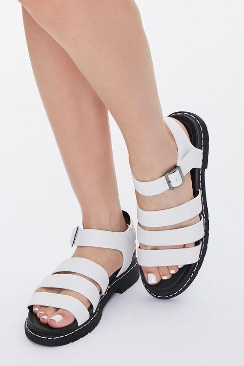 Caged Platform Sandals, image 1