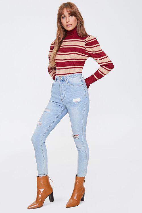 Striped Turtleneck Sweater, image 4
