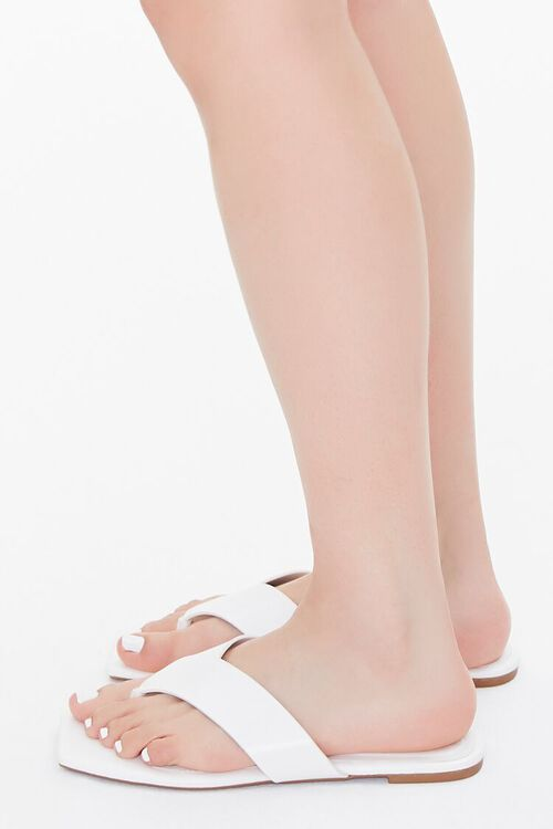 Square Thong-Toe Sandals, image 2