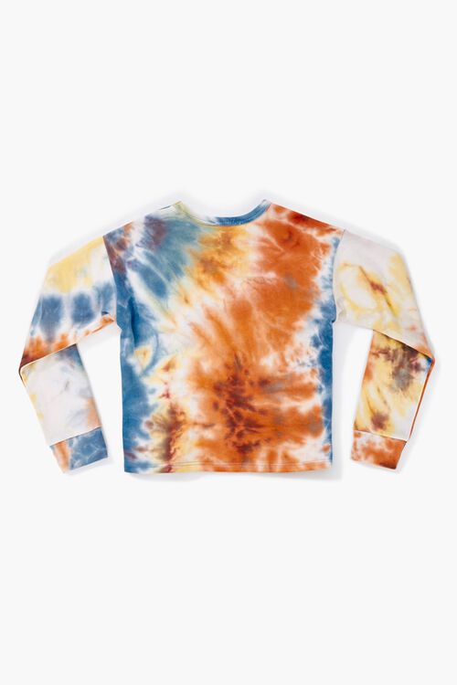 Girls Tie-Dye Sweatshirt (Kids), image 2
