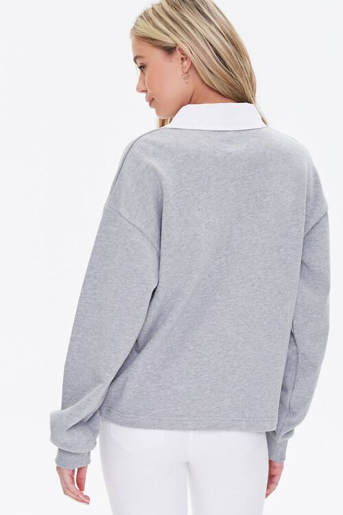 Heathered Rugby Shirt, image 4