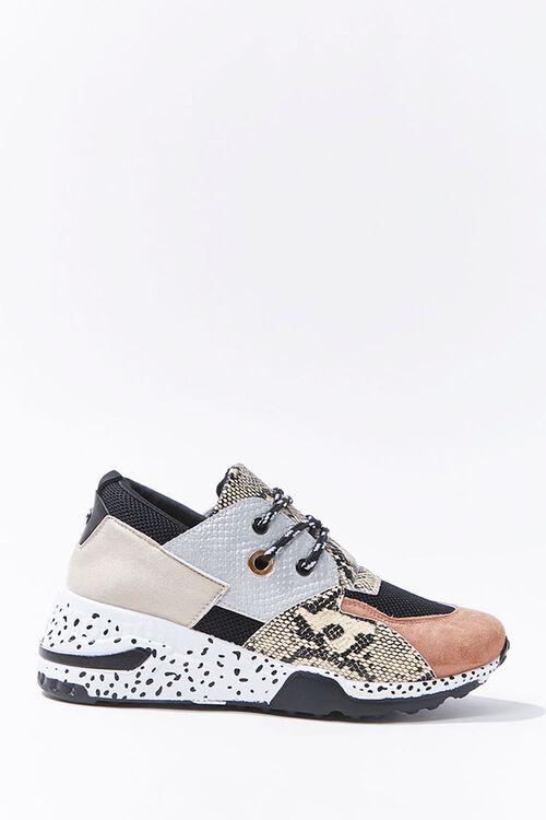 Patternblock Low-Top Sneakers, image 1