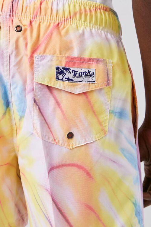 Tie-Dye Wash Swim Trunks, image 5