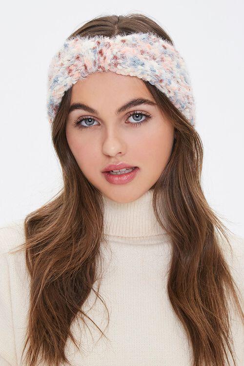 Fuzzy Knit Headwrap, image 1