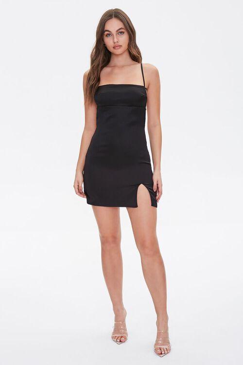 Satin Open-Back Dress, image 5