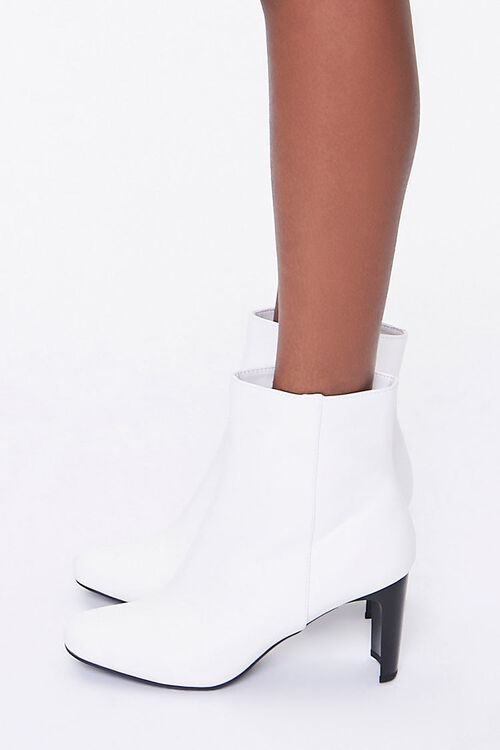Square Block Heel Booties, image 2