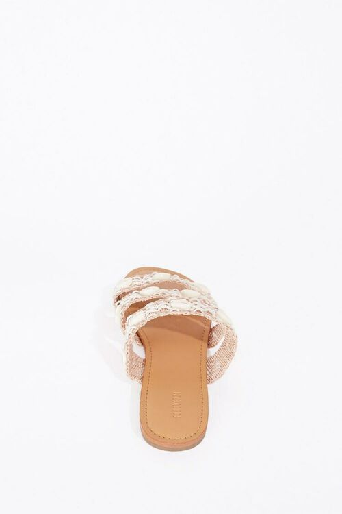 WHITE Caged Shell Sandals, image 2