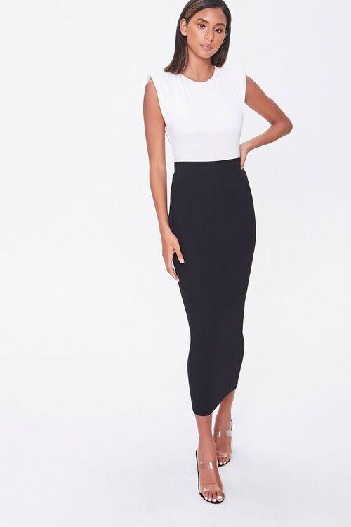 Midi Pencil Skirt, image 1