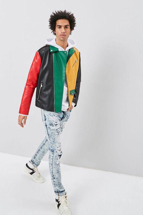 Colorblock Moto Jacket, image 5