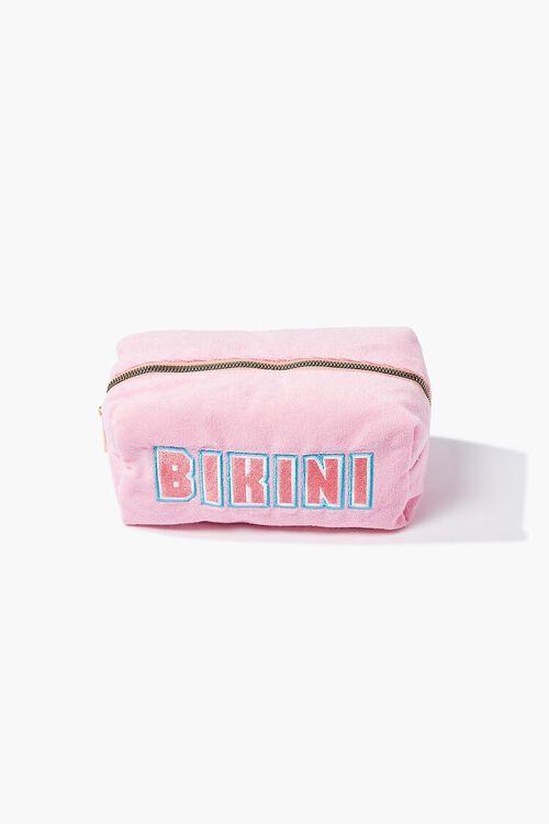 Bikini Graphic Square Pouch, image 1