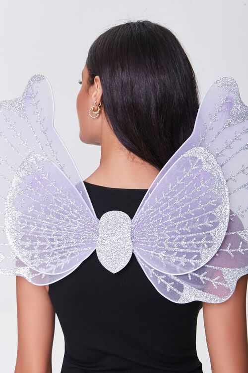 LILAC/MULTI Butterfly Costume Wings, image 3