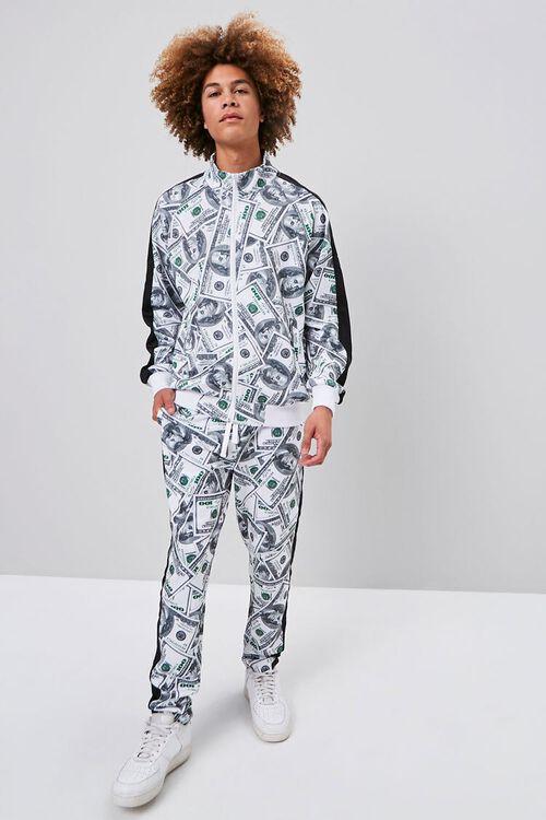 Hundred Dollar Print Bomber Jacket, image 4