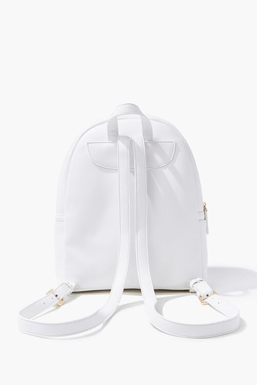 Faux Leather Backpack, image 3