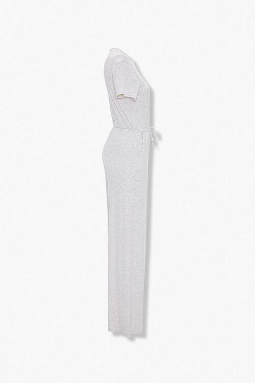 Heathered Wide Leg Jumpsuit, image 2