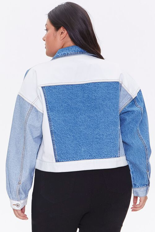 Plus Size Reworked Denim Jacket, image 3