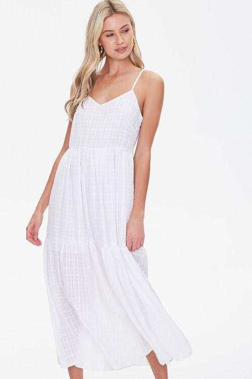 Plaid Midi Dress, image 1