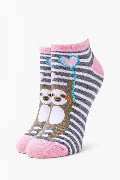 Sloth Ankle Socks, image 2