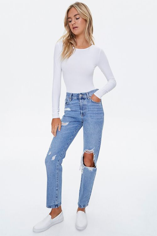 Lace Trim Bodysuit, image 4